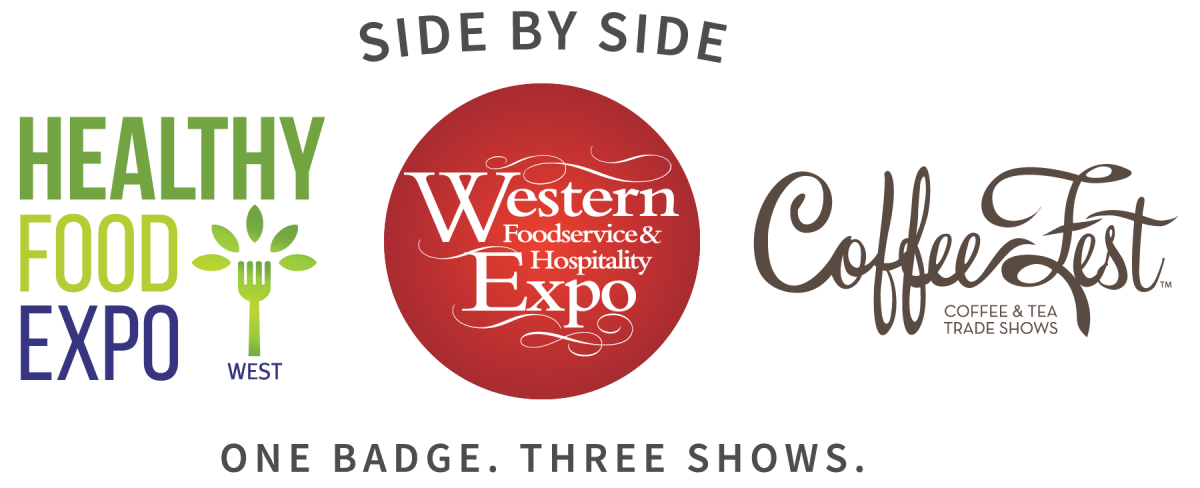 Western Food Expo Healthy Food Expo Coffee Fest Side by Side Three Shows One Badge