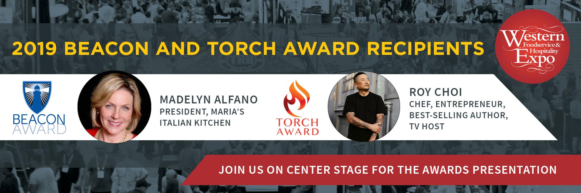 Western Food Expo Torch Award Beacon Award Special Events