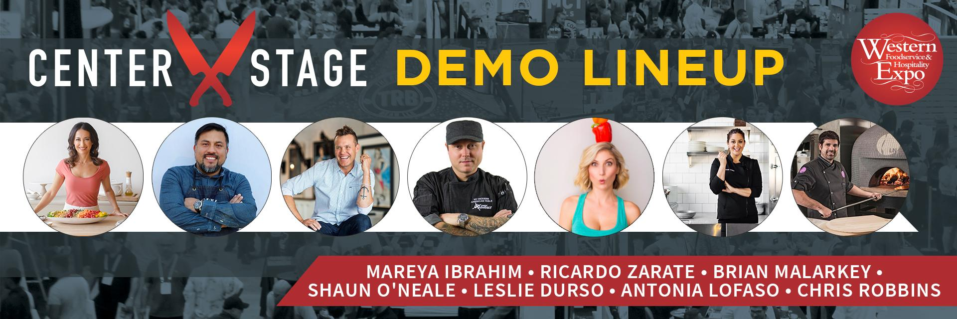 Western Food Expo Center Stage Culinary Demos